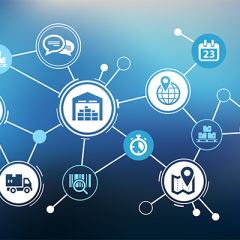 How can blockchain technology diffuse with the supply chain?