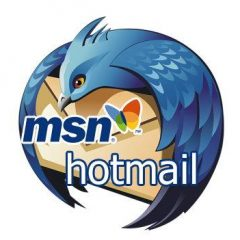 Hotmail on a cleaning campaign