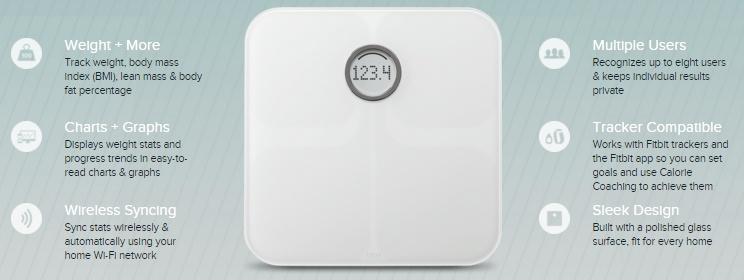 fitbit aria smart scales