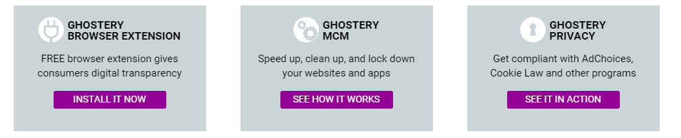 ghostery internet extension