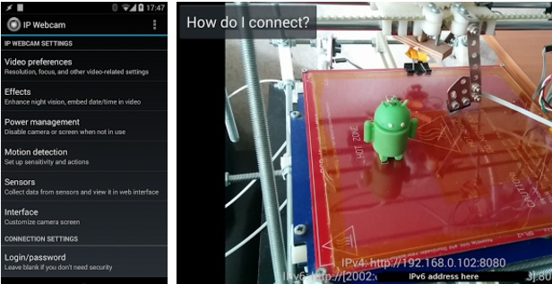 ip webcam android
