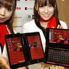 Toshiba Libretto W100 Could Bring DS-Style Operation to PCs