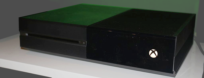 http://commons.wikimedia.org/wiki/File:Xbox_One_front_side_view.png